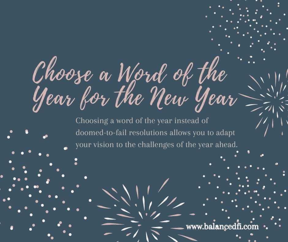 Word of the year - Balanced FI